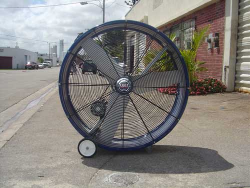 Tall Portable Fan : Rent portable misters misting fans coolers air