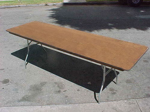 Exceptionnel 8 Foot Folding Table Rentals